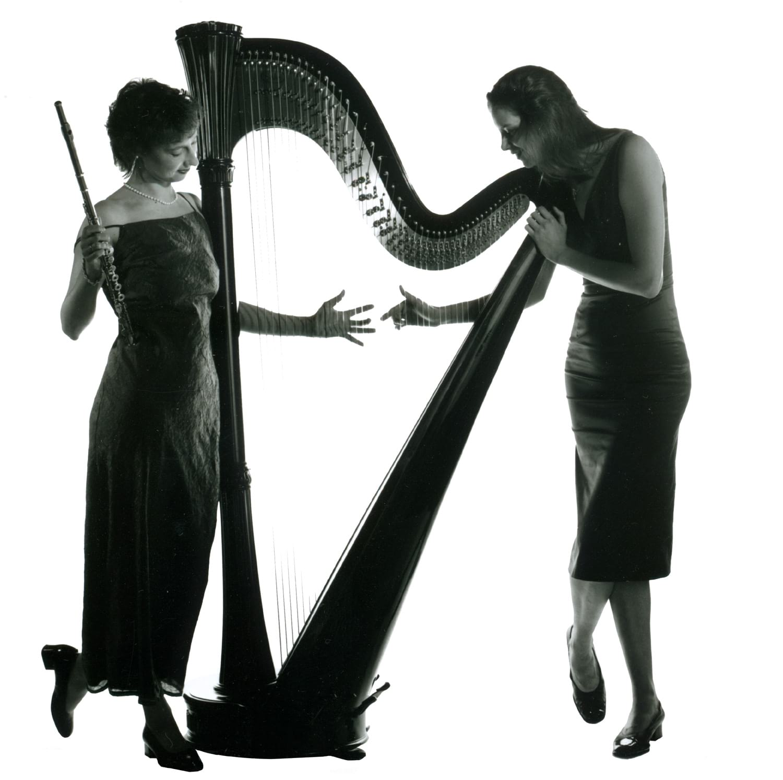 Duo Dali Harfe Flöte Daske Liebert Musik